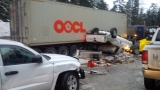 Driver arrested as 2 killed, 5 injured in crash at Snoqualmie Pass; westbound I-90 reopen