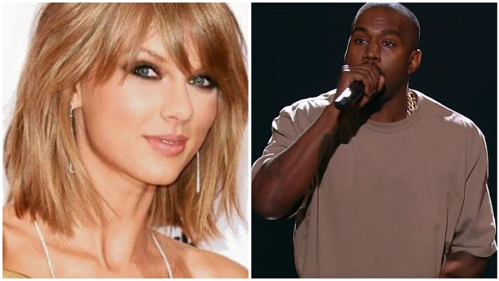 Kanye West calls Taylor Swift the 'B-word,' says it was her idea in lengthy Twitter rant