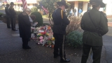Funeral procession, public memorial for slain Seaside officer Sgt. Goodding